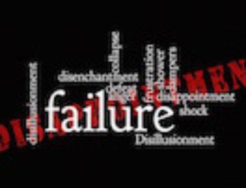 No arriesgar por miedo al fracaso