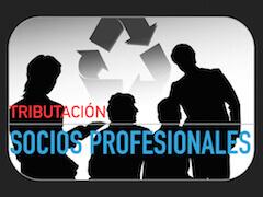 Tributación socios profesionales