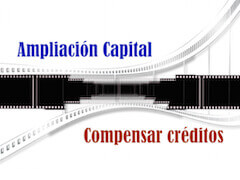Ampliacion capital compensar credito