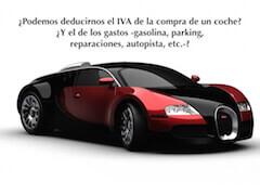 IVA deducible vehículo
