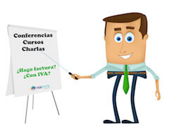 Factura conferencias cursos