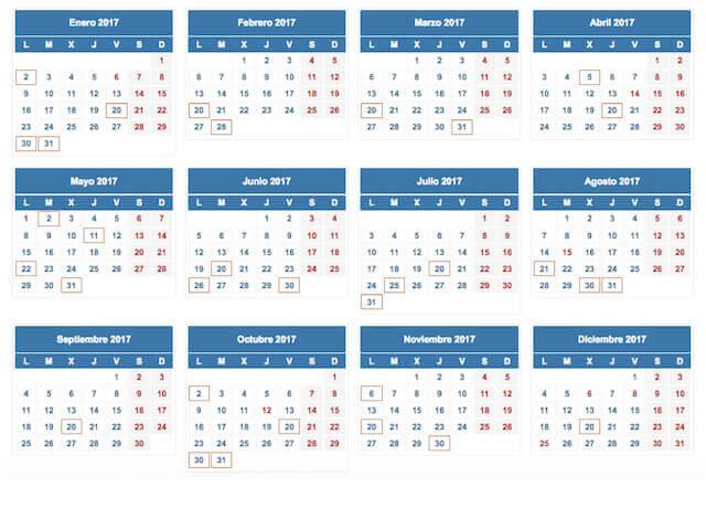 Calendario Fiscal 2019 Espana.Aeat Calendario Fiscal 2019