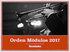 Novedades Orden Módulos 2017