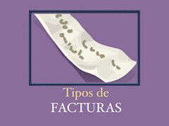 tipos facturas asepyme