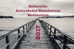 Deducciones autonómicas autónomos