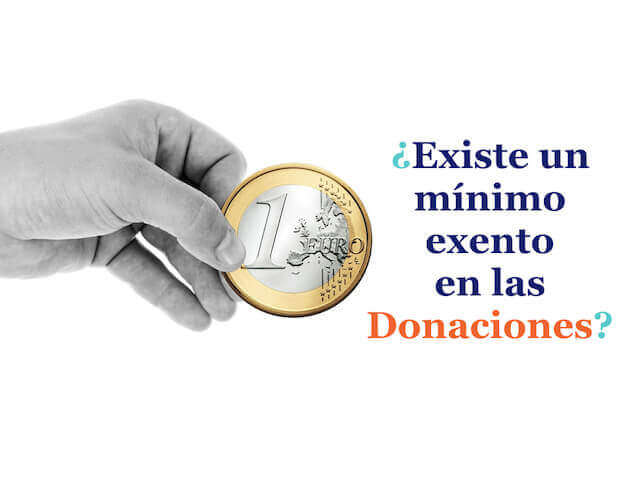 Minimo exento donaciones padres hijos