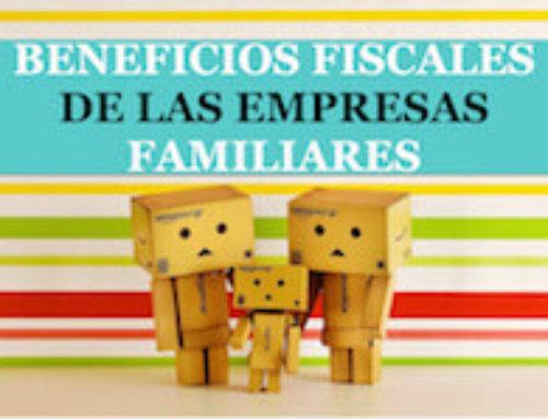 Beneficios fiscales de las empresas familiares