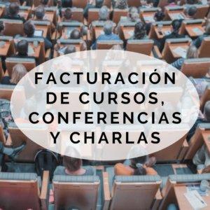 facturacion conferencias cursos charlas