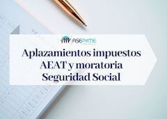 Aplazamientos Hacienda y Seguridad Social COVID-19