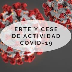 ERTE y el cese de la actividad económica por el COVID-19