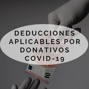 Deducción donativos COVID-19