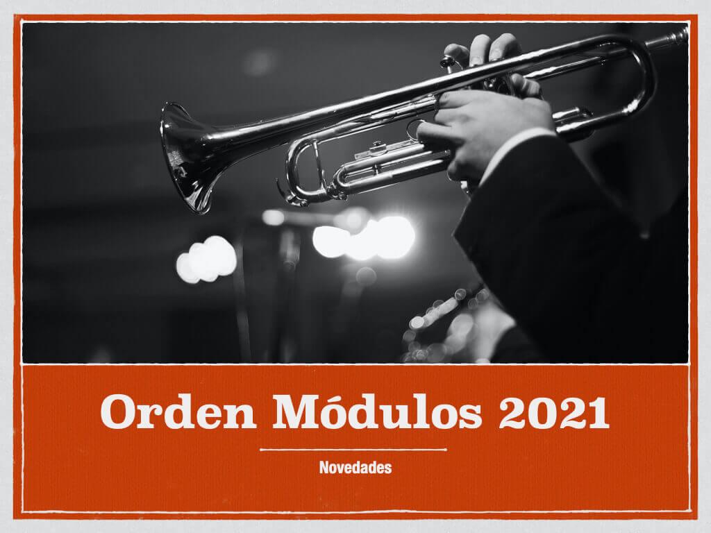 Novedades Orden de Modulos 2021 AEAT