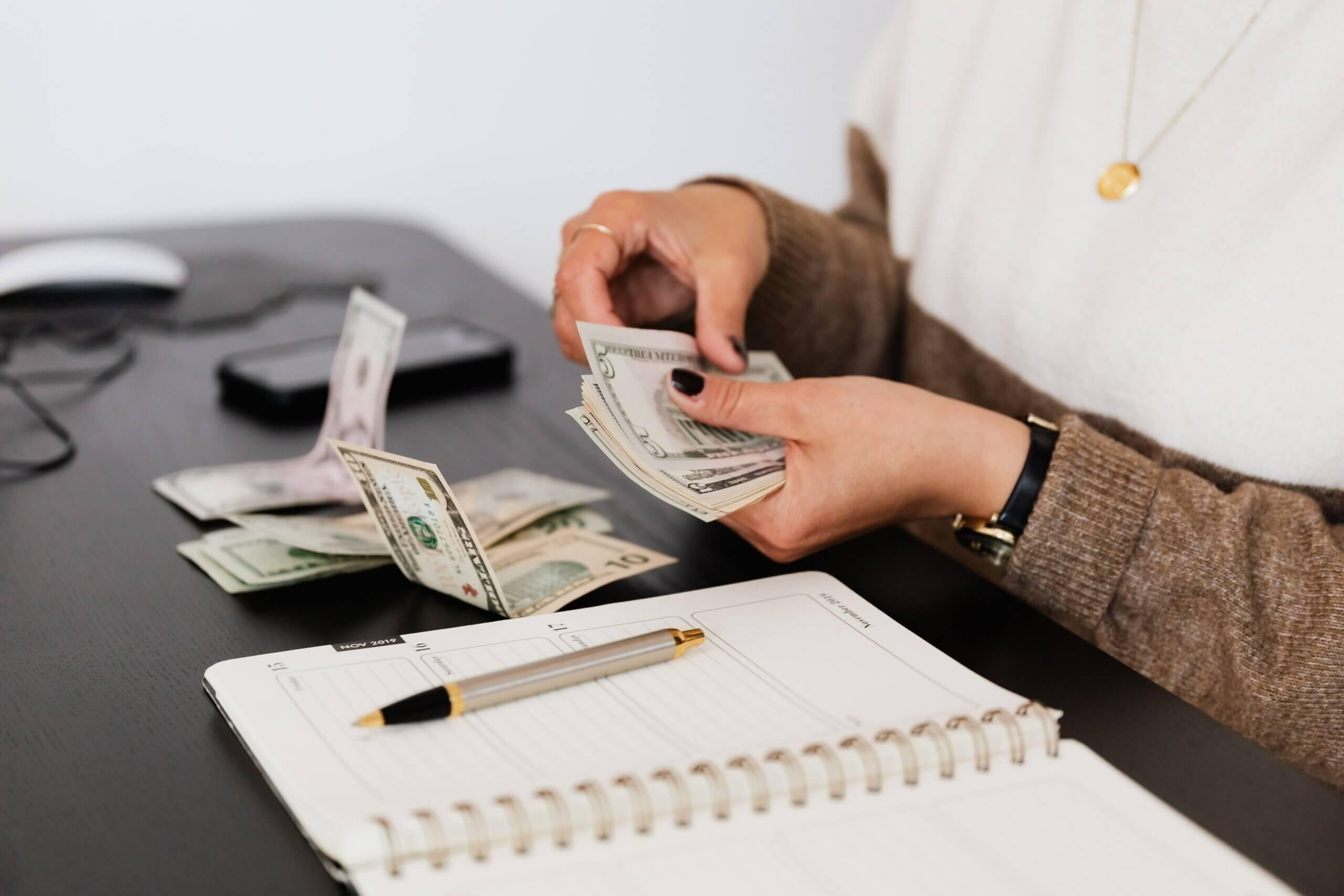 Donación de dinero del extranjero